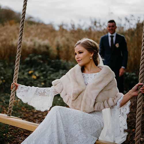 Bryllupsfotograf og portrætbilleder i Aarhus